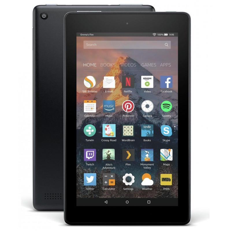 Tableta Amazon Fire 7 Quad-Core 1.3 GHz 7 1GB RAM 16GB Wi-Fi Black Amazon - 1