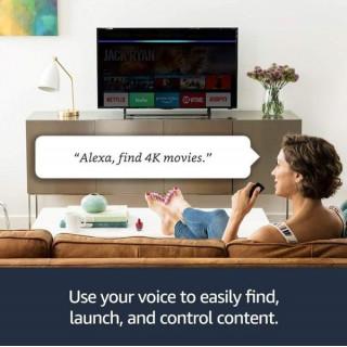 Mediaplayer Amazon Fire TV Stick Control Alexa, Ultra HD 4K Amazon - 3