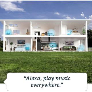 Boxa Smart Amazon Echo 4 Generation cu Alexa Dolby Audio Blue Amazon - 7