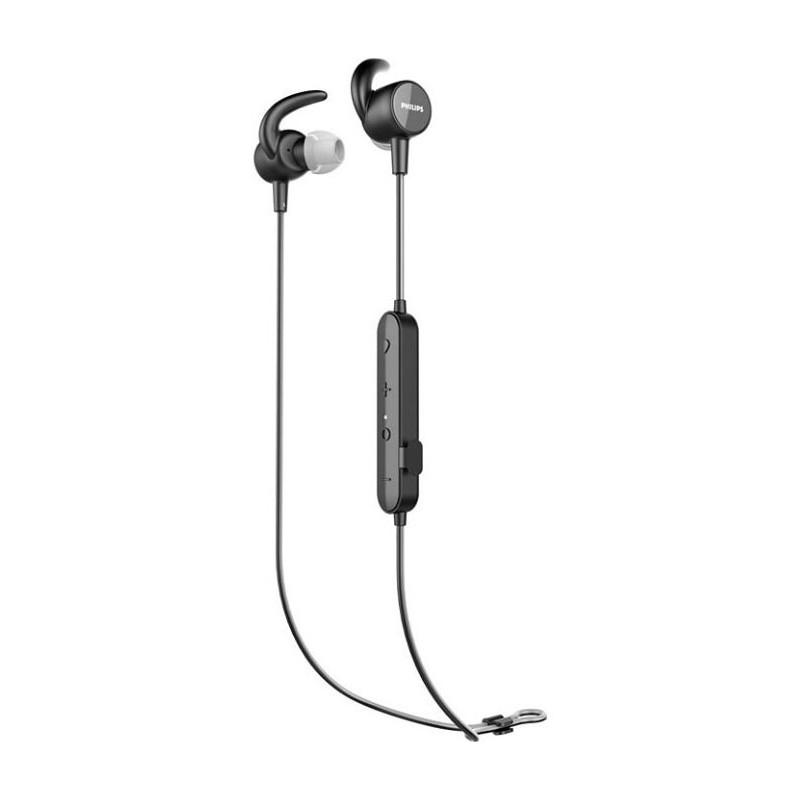 Casti Wireless Philips TASN503BK/00 in-ear Sport Bluetooth Black Philips - 1