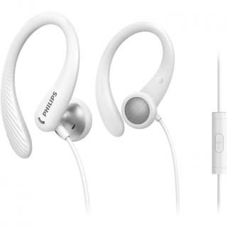 Casti Philips TAA1105BK/00 in-ear Sport Microfon White Philips - 1