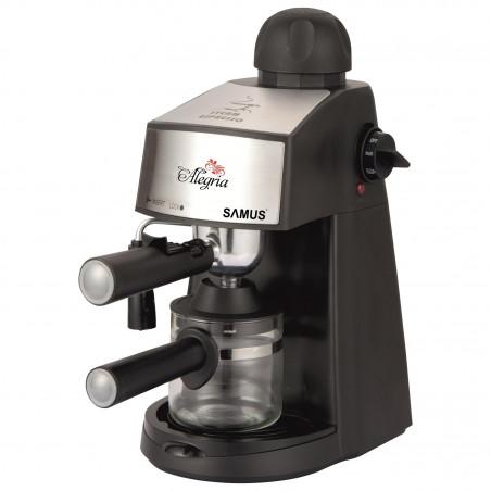 Espressor Samus Alegria 800W 3.5bari 240ml Black-Silver Samus - 1