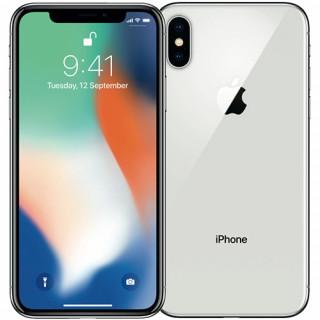 Telefon mobil Apple iPhone X 64GB A Grade Silver Refurbished Apple - 1