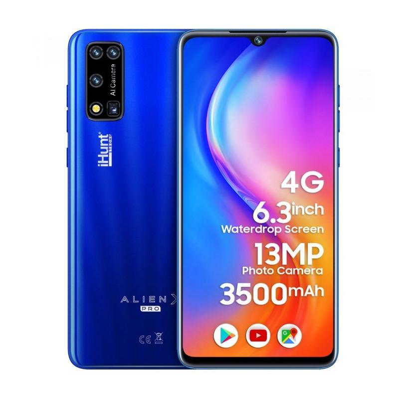 Telefon mobil iHunt Alien X Pro 2021 Dual SIM 4G Blue iHunt - 1