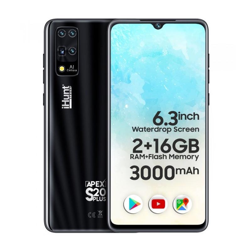 Telefon mobil iHunt S20 Plus Apex 2021 16GB Dual Sim 3G Black iHunt - 1