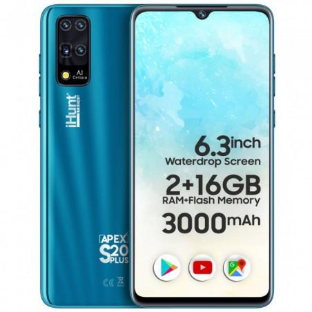 Telefon mobil iHunt S20 Plus Apex 2021 16GB Dual Sim 3G Blue iHunt - 1