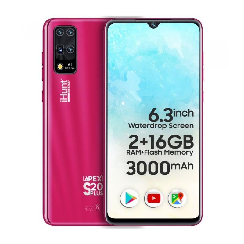 Telefon mobil iHunt S20 Plus Apex 2021 16GB Dual Sim 3G Pink iHunt - 1