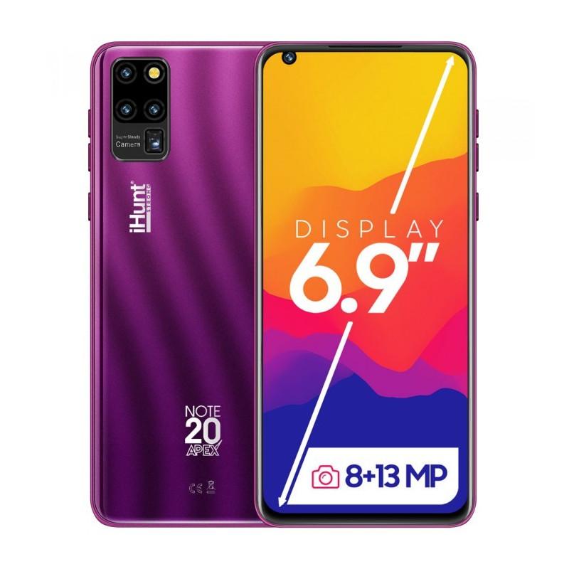 Telefon mobil iHunt Note 20 Apex 2021 16GB Dual Sim 3G Purple iHunt - 1