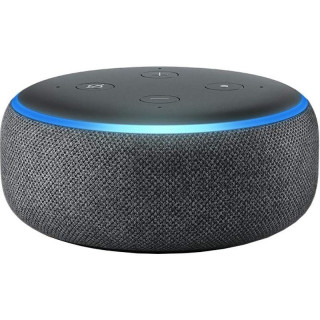 Boxa Smart Amazon Echo Dot 3 Alexa Bluetooth Wi-Fi Charcoal Amazon - 1
