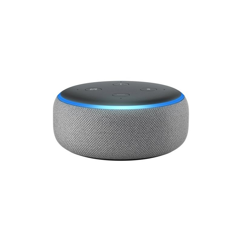 Boxa Smart Amazon Echo Dot 3 Alexa Wi-Fi Bluetooth Heather Gray Amazon - 1