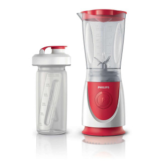 Mini blender Philips Daily Collection HR2872/00 350W 0.6l 1 Viteza Red Philips - 3