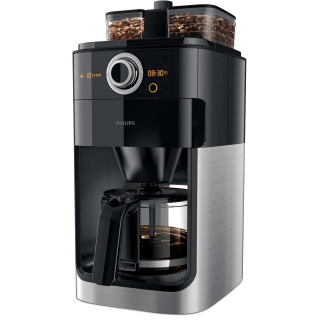 Cafetiera Philips Grind & Brew HD7769/00 1000 W Rasnita de cafea integrata Cronometru Black Philips - 1