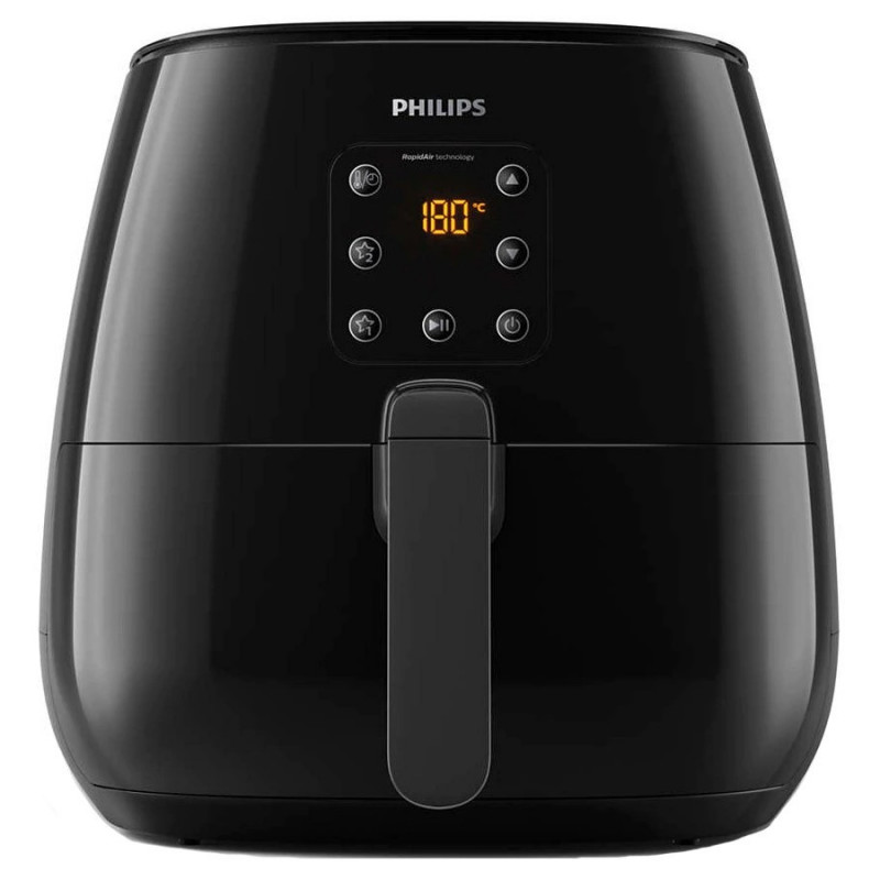 Friteuza fara ulei Philips Airfryer XL HD9260 Viva Collection Capacitate 1.2kg Rapid Air afisaj digital Black Philips - 1
