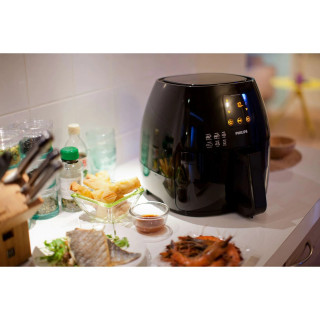 Friteuza Philips Airfryer XL HD9240 Tehnologie RapidAir 210 grade C Touchscreen Black Philips - 3