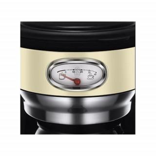 Cafetiera Russell Hobbs Retro Vintage Cream 21702-56 1000 W 1,25 l Tehnologie avansata cu dus Brown Inox Russell Hobbs - 2