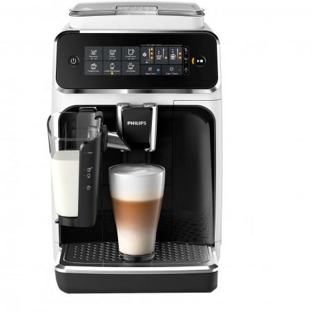 Espressor automat Philips EP3243/50, sistem de lapte LatteGo, 5 bauturi, filtru AquaClean, rasnita ceramica, ecran tactil, Alb P