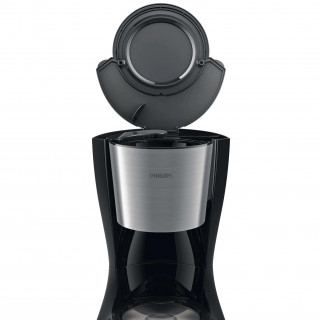 Cafetiera Philips Daily Collection HD7459/20 1000 W cana din sticla afisaj LCD aroma twister Black Philips - 1