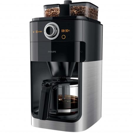 Cafetiera Philips Grind & Brew HD7769/00 1000 W Rasnita de cafea integrata Cronometru Black Philips - 1
