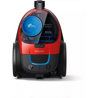 Aspirator fara sac Philips PowerPro Compact FC9351/01 1.5 L 1900 W HEPA Rosu Philips - 7