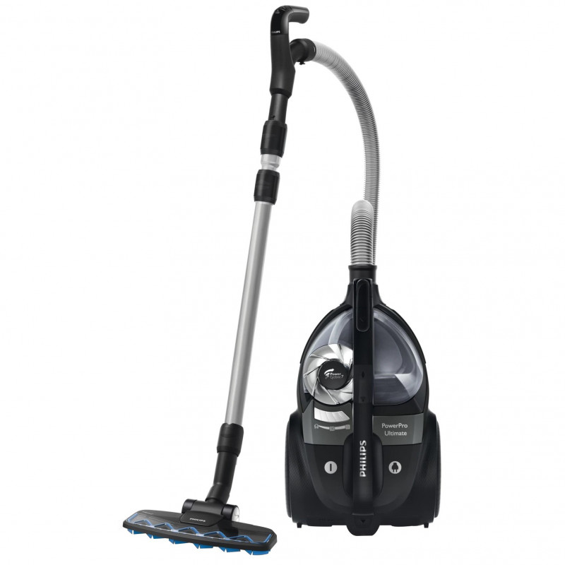 Aspirator fara sac Philips PowerPro Ultimate FC9921/09 650W 2.2l Tub telescopic metalic HEPA 13 Black Philips - 1