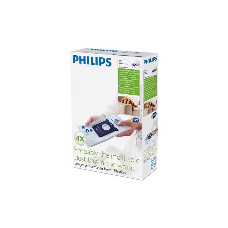Sac de praf de unica folosinta Philips FC8023/04 cu Dezodorizant Philips - 1