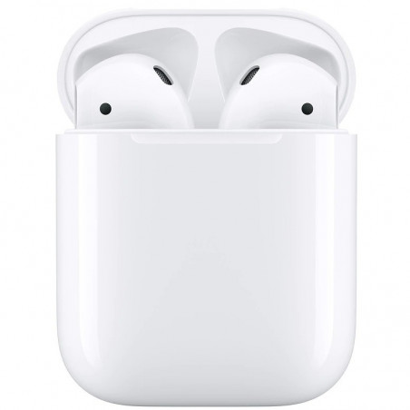 Casti Apple AirPods 2 Charging Case White Apple - 1