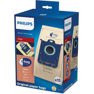 Saci Philips FC8019/03 s-bag Classic din hartie 15 buc Philips - 1