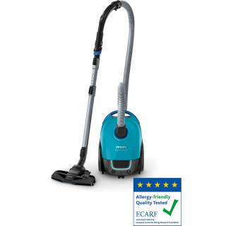 Aspirator cu sac Philips Peformer Compact FC8379/09 3l Tub telescopic 750W Blue Philips - 1