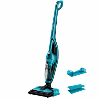 Aspirator vertical si mop PHILIPS FC6404/01 0.6l 18V Blue Philips - 1
