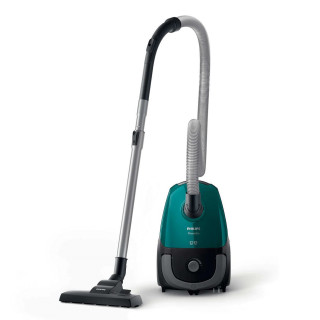 Aspirator cu sac Philips PowerGo FC8246/09 750W Perie Turbo Filtru Antialergic Green Philips - 1