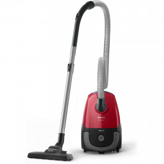 Aspirator cu sac Philips PowerGo FC8293/01 1800W Super Clean Air 3l Tub telescopic Red Philips - 1
