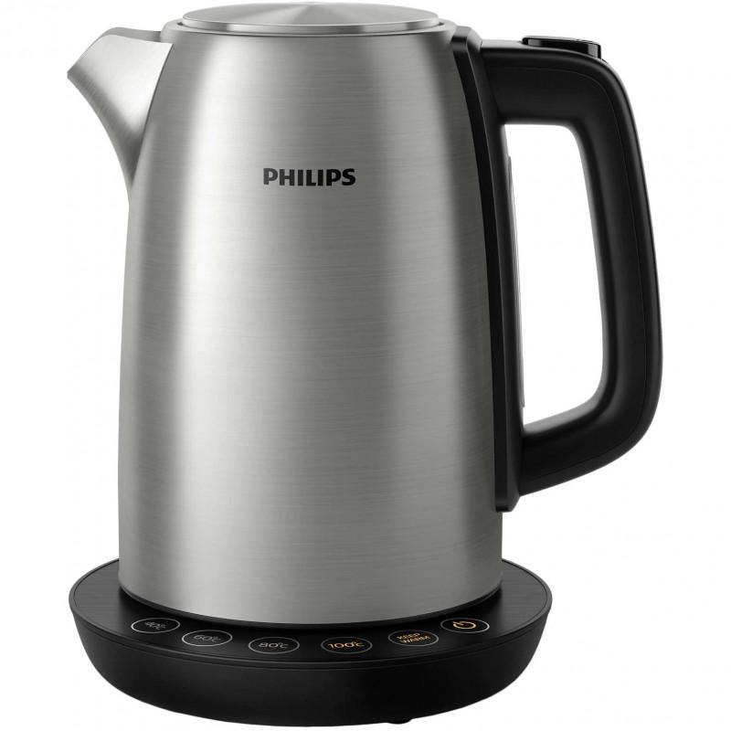 Fierbator Philips HD9359/90 2200W 1.7L control temperatura Black Philips - 1