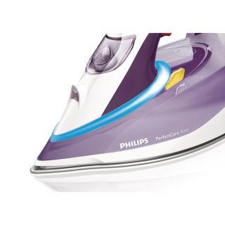 Fier de calcat Philips PerfectCare Azur GC4928/30 Talpa T-ionic Glide 3000W 0.35l 210g/min Alb/Mov Philips - 1