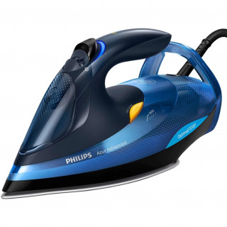 Fier de calcat Philips Azur Advanced GC4932/20 2600W Talpa SteamGlide Plus Tehnologie OptimalTEMP Negru/Albastru Philips - 1