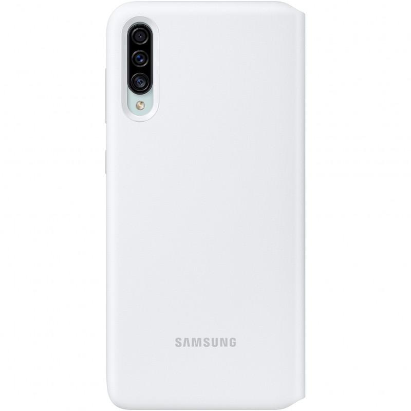 Husa tip Book Samsung Wallet Cover EF-WA307PWEGWW Galaxy A30s Alba Samsung - 1