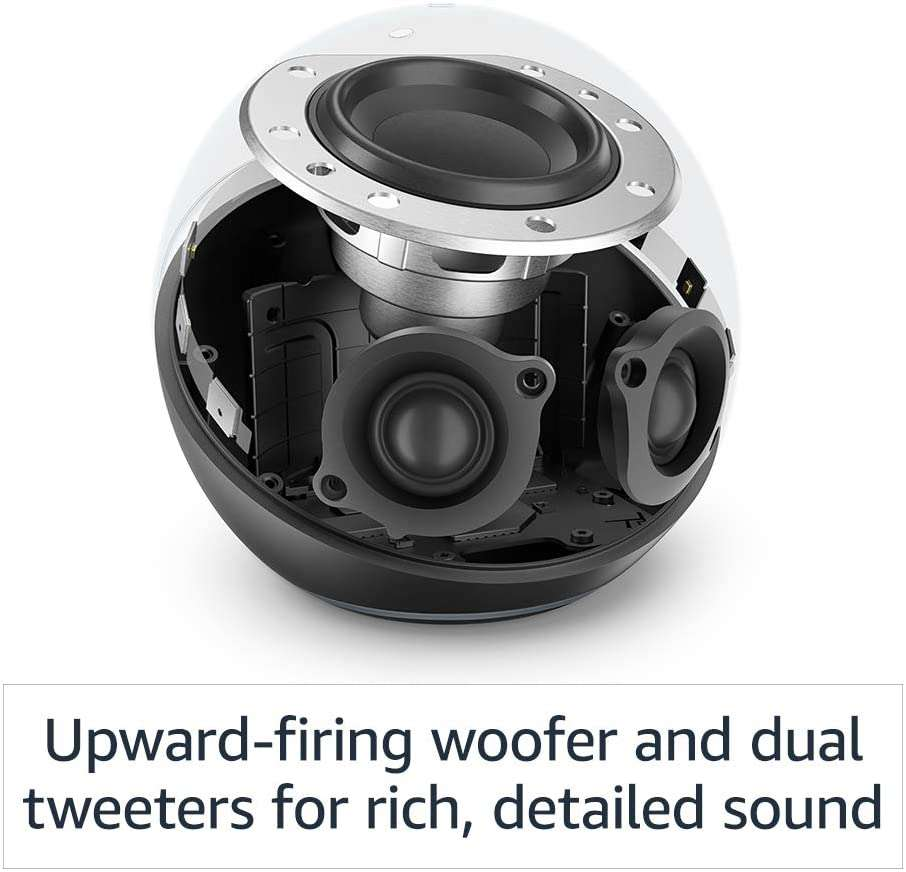 Boxa Smart Amazon Echo 4 Generation cu Alexa Dolby Audio Charcoal 2