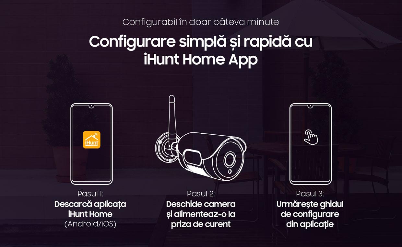 ihunt Smart Outdoor Camera C310 WIFI 8
