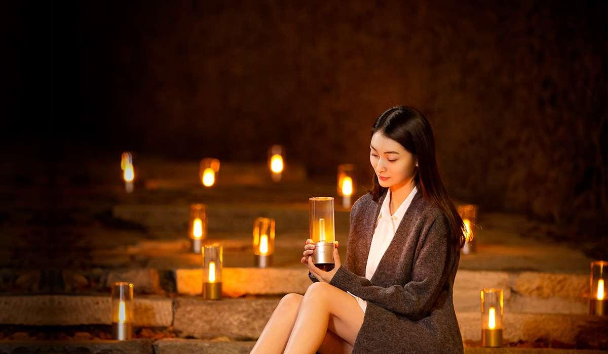 Lampa Xiaomi Yeelight Atmosphere Lamp Gold 1