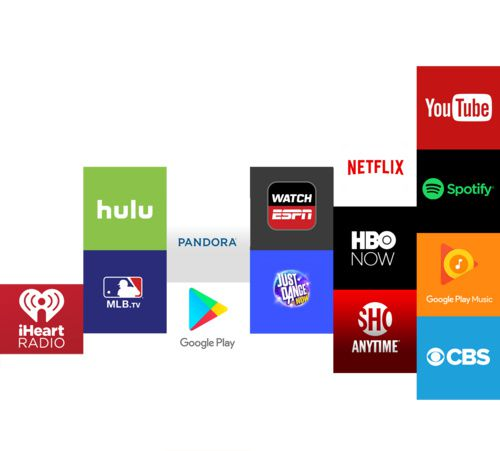 Mediaplayer Google Chromecast 3 HDMI Streaming Black 2