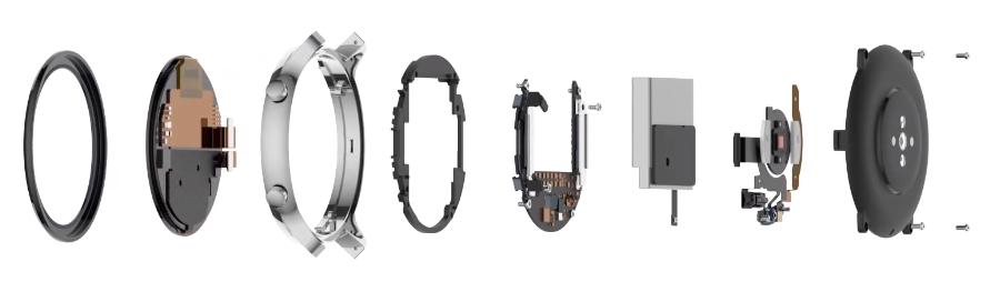 Smartwatch Xiaomi Huami Amazfit GTR 42mm Starry Black