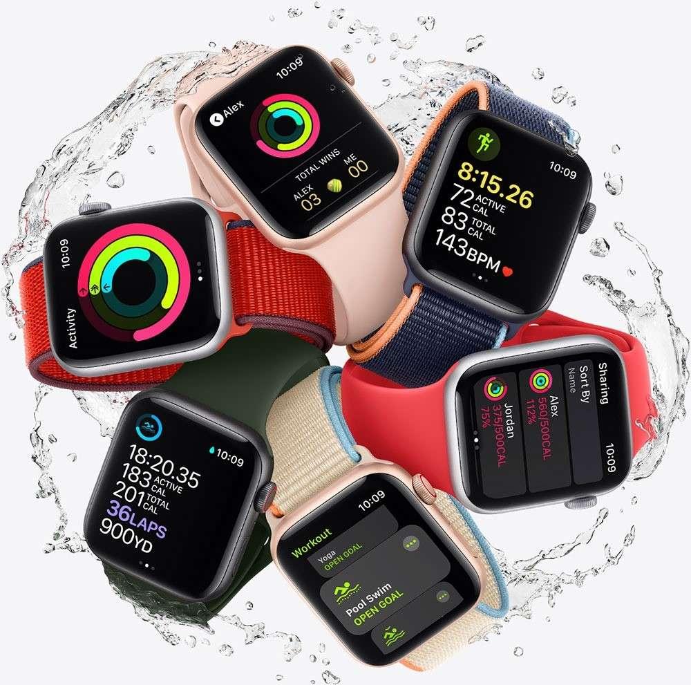 apple watch SE gold 2