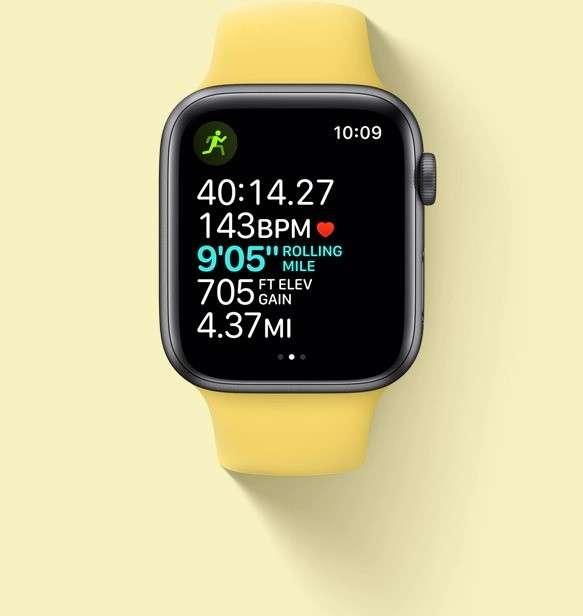apple watch SE gold 4