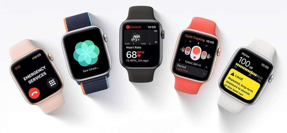 apple watch SE gold 6