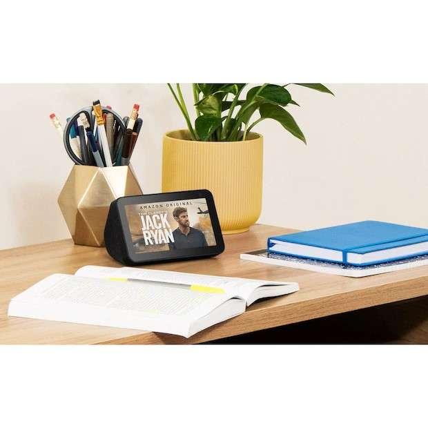 Boxa Smart Amazon Echo Show 5 Alexa Cu Ecran Si Apelare Video Negru 3