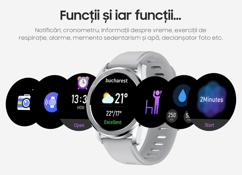 smartwatch Watch 3 Titan Black 13