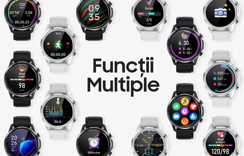 smartwatch Watch 3 Titan Black 2