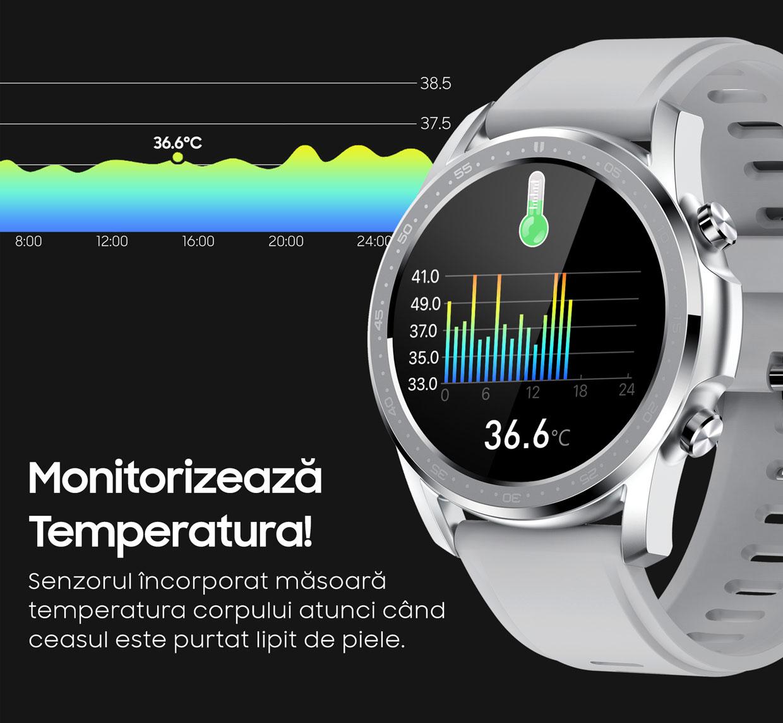 smartwatch Watch 3 Titan Black 3
