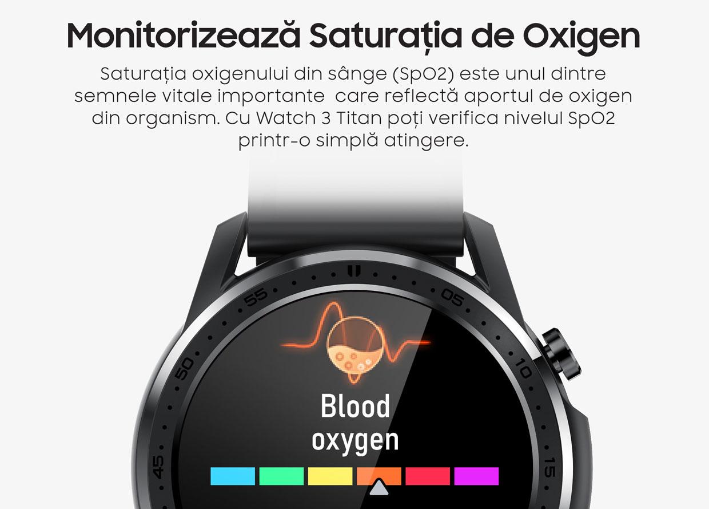 smartwatch Watch 3 Titan Black 6