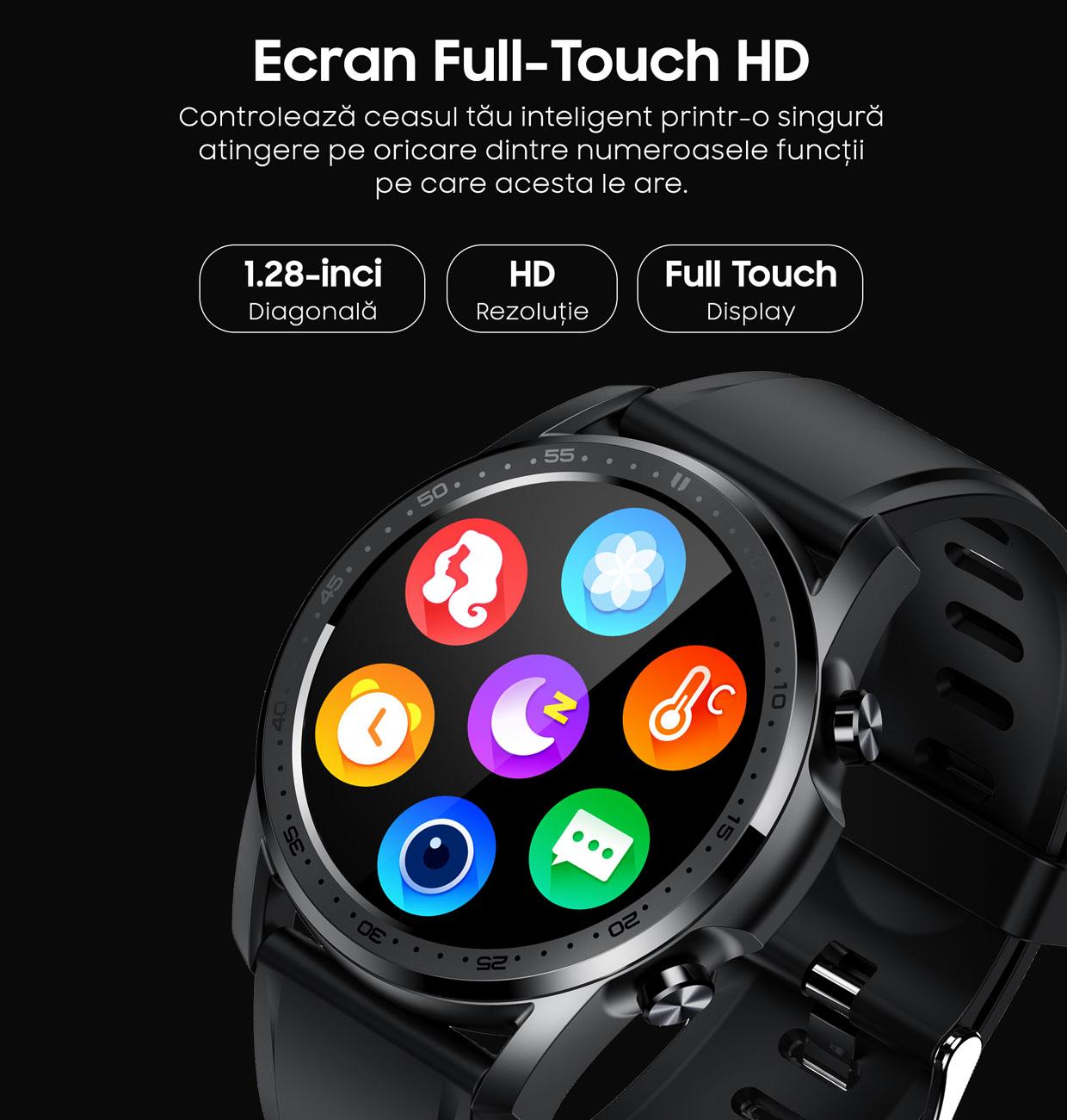 smartwatch Watch 3 Titan Black 8