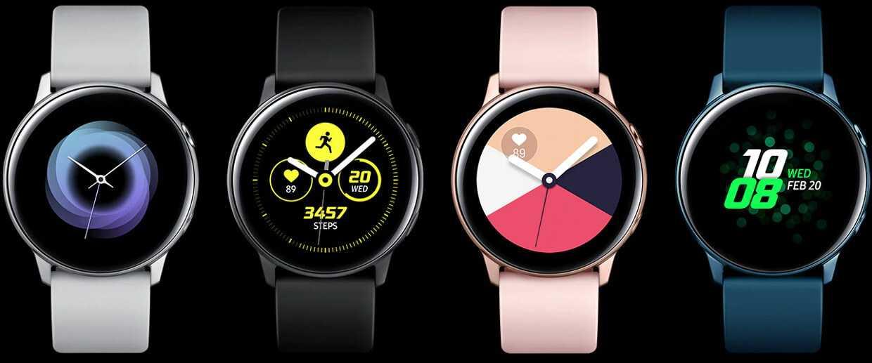 Smartwatch Samsung Galaxy Active R500 Black